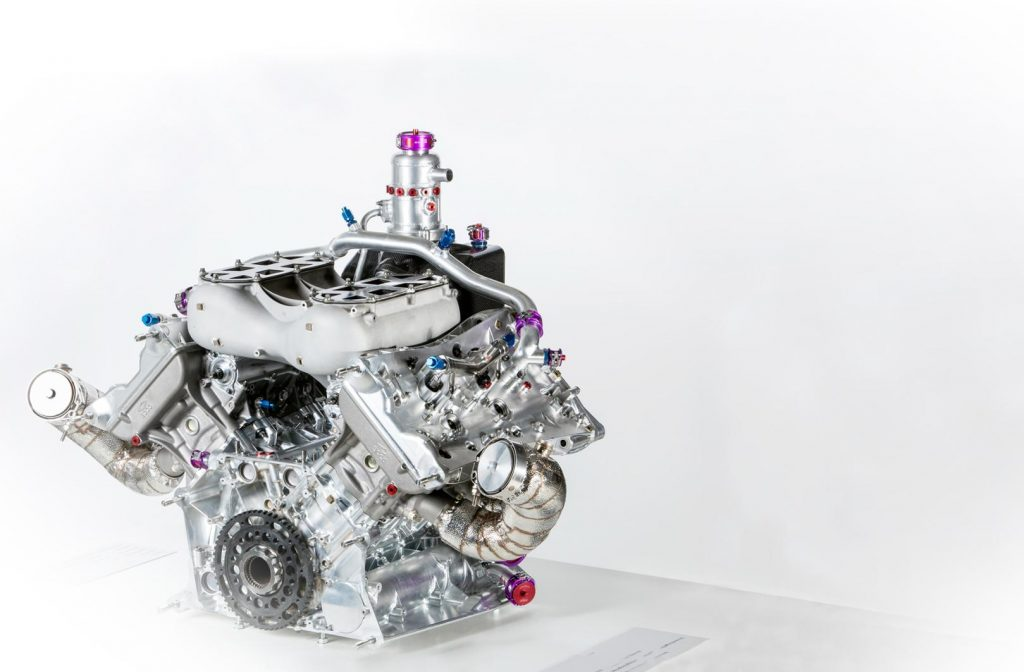 Porsche 919 Hybrid Motor Turbo Compound Technik
